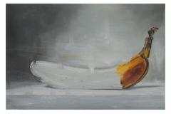 Studie van een banaan